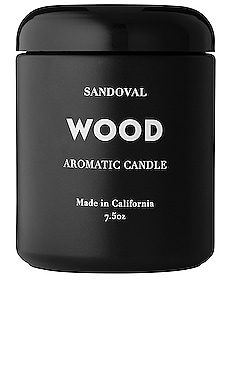 Wood Aromatic Candle SANDOVAL $60