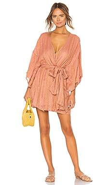 Graziella Robe Dress Sundress $134
