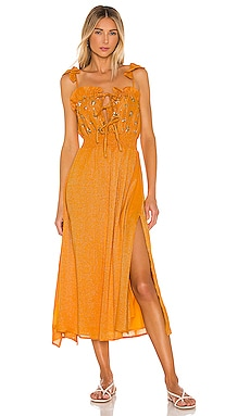 ROBE MI-LONGUE AMOUR Sundress $152