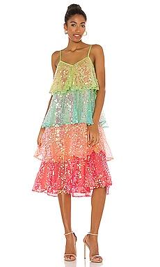 ARISTA ミディ丈ドレス Sundress $178