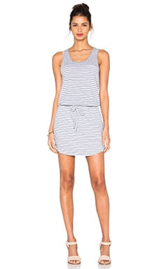 SUNDRY Tank Dress in Silver