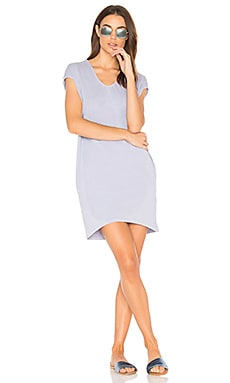 Tunic Pocket Dress in Pigment Grey