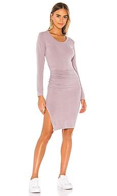 Ruched Slit Dress SUNDRY $152