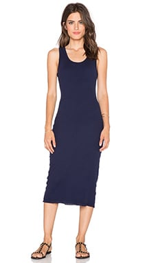 SUNDRY Tank Dress in Midnight