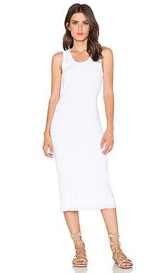 SUNDRY Tank Dress in White