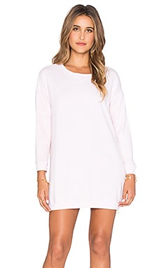 SUNDRY Side Zip Tunic in Petal