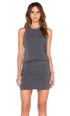 SUNDRY Sleeveless Dress in P Grey