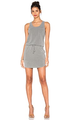 SUNDRY Tank Dress in Pigment Olive