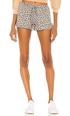 Leopard Dolphin Shorts SUNDRY $88