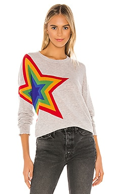 Star Crew Neck Sweater SUNDRY $198