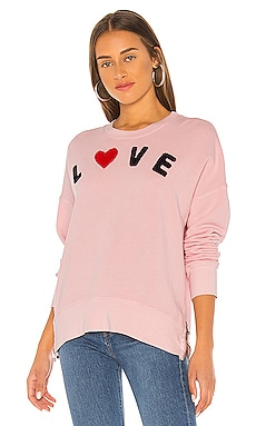 Love Double Zip Oversized Sweatshirt SUNDRY $139