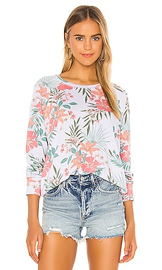 Tropical Raglan Pullover SUNDRY $148 BEST SELLER