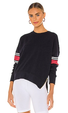 Striple Double Zip Sweatshirt SUNDRY $162