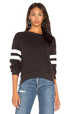 Side Zipper Crewneck Sweatshirt SUNDRY $77