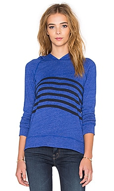 SUNDRY Raglan Hoodie in Royal Blue