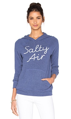 SUNDRY Salty Air Sweatshirt in Denim