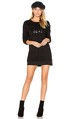 Paris Side Zip Sweatshirt