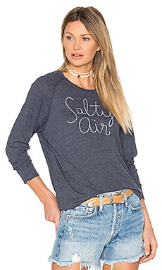 Salty Air Sweatshirt in Heather Navy