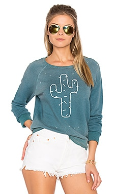 Cactus Sweatshirt in Sunfaded River