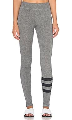 SUNDRY Yoga Pant in Heather Grey