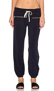 SUNDRY Zip Sweatpant in Midnight