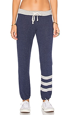 SUNDRY Stripes Sweatpants in Navy