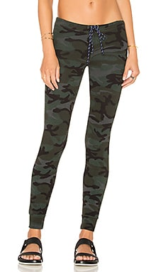 Skinny Sweatpant in Charcoal Camo