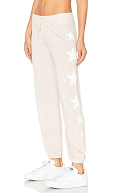 Side Stars Classic Sweatpants en Avoine Chiné