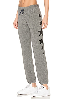 Stars Sweatpant in Heather Grey