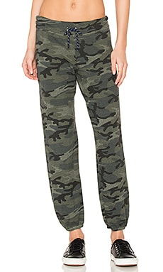 Camo Sweatpant in Army