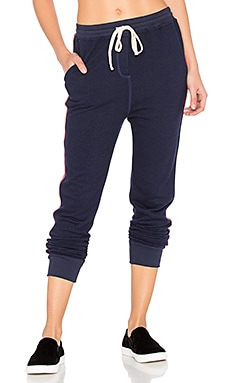 Tape Slash Pocket Pant in Navy