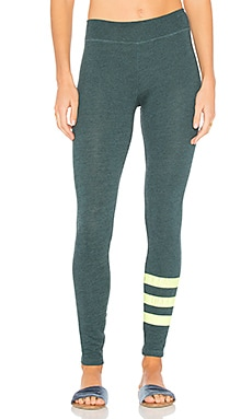 Stripes Yoga Pant in Heather River