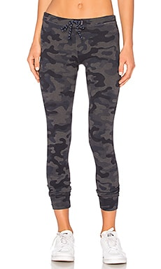 Camo Skinny Sweatpant in Heather Charcoal