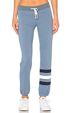 Stripes Sweatpant en Heather Denim