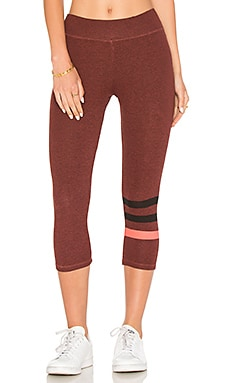Stripes Capri Legging