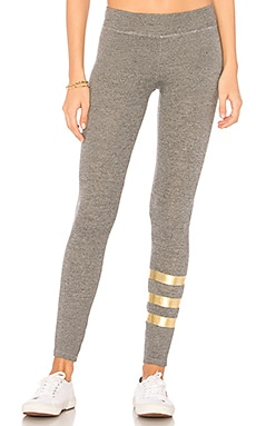Foil Stripes Yoga Pant