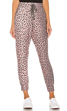 Animal Print Pocket Jogger Pant SUNDRY $98