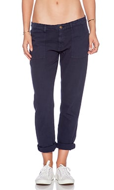 SUNDRY Army Pant in Navy