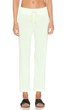 SUNDRY Sweatpant in Neon Citron