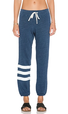 SUNDRY Stripe Sweatpant in Vintage Deep Sea