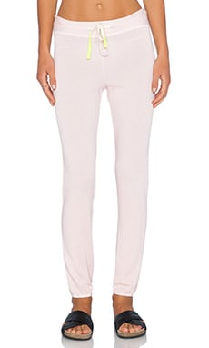 SUNDRY Basic Sweatpant in Petal