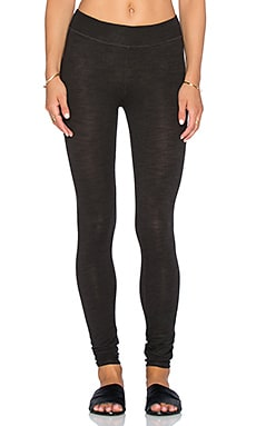 SUNDRY Yoga Pant in Vintage Black