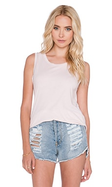 SUNDRY Muscle Tank in Petal