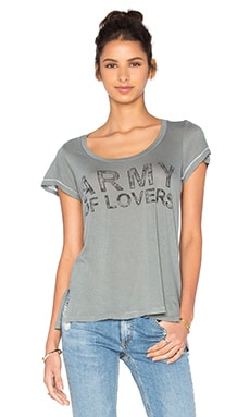 SUNDRY Army Tee in Olive