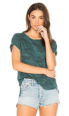 Camo Loose Tee in River