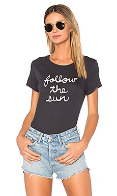 Follow the Sun Tee in Summer Black