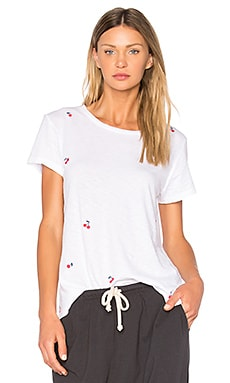 Cherries Boy Tee in White