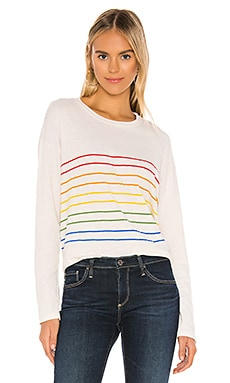 Rainbow Stripes Long Sleeve SUNDRY $86