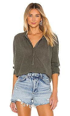 Stripe Pintuck Blouse SUNDRY $145