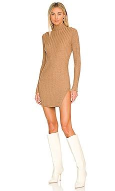Blinded Ribbed Dress SNDYS $69 NEW